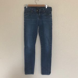 Citizens of humanity low rise skinny 26